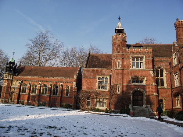Some of the buildings at Ridley Hall, Cambridge
