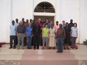 Canadian Mission Team after arrival in Tarime on 4 July 2011