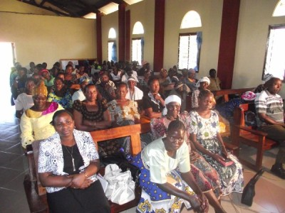 A cross-section of church elders on 14 May 2011