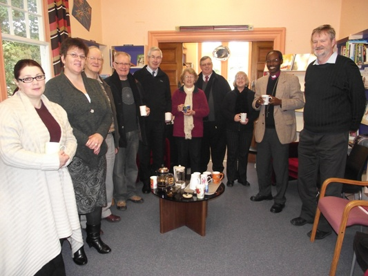 Bishop Mwita at the Anglican Centre, Diocese of Wellington