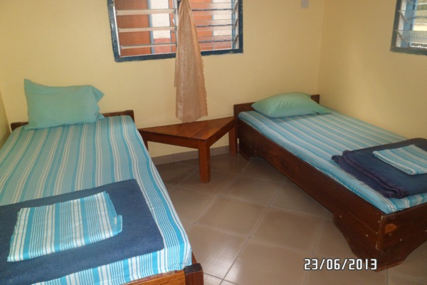Twin-bedroom