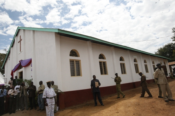 St Luke's Pro-Cathedral Church in Tarime town where Mwita's consecration took place.