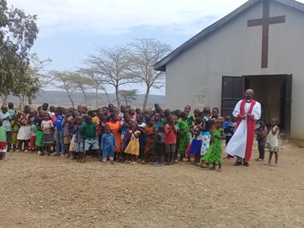 kids with Bishop 2017
