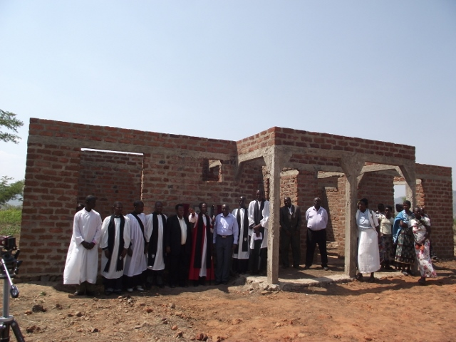 Pastor's House (wall completed)