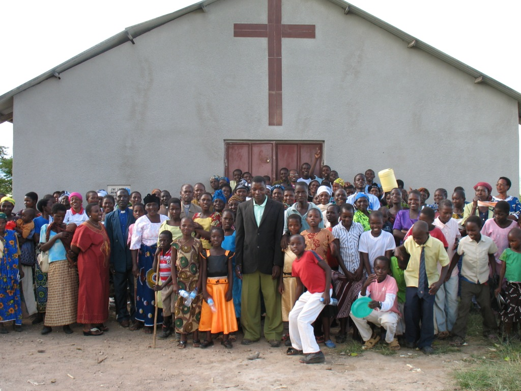 congregation after worship