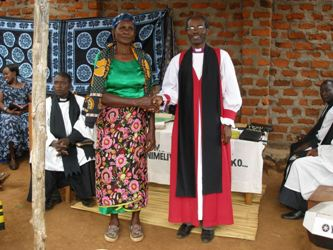 "</span><span style=""font-size: 12.16px;\"">Mama Thabita who donated land for church use</span><span style=\""font-size: 12.16px;\"">"