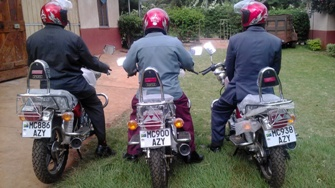 New motorcycles donated in 2016