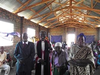 bishop with seniors.