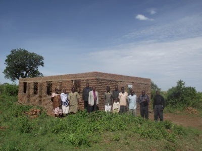 Nyakunguru Parish Church buliding under construction