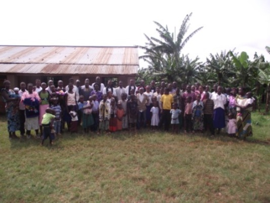 The congregation at Nyamwigura Parish