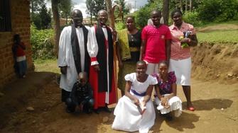 Canon John Mhiri & family