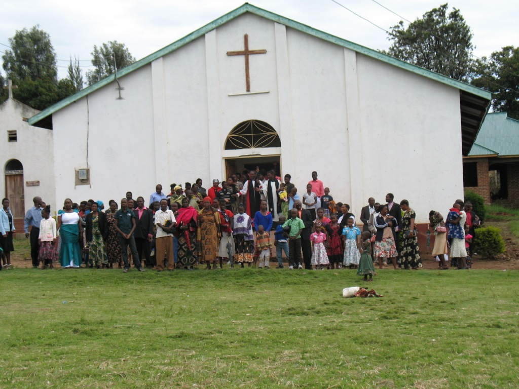 St Luke's Tarime on Christmas Day 2012