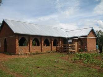 Bugumbe Church-roof Completed April 2014