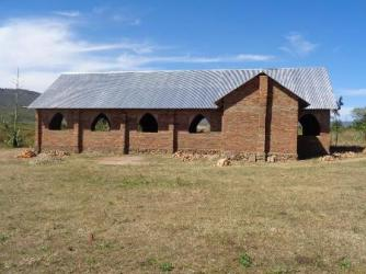 Nyarwana Church - roof completed August 2015