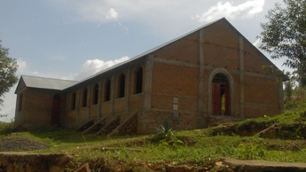 Buhemba Church - roof completed Novermber 2014