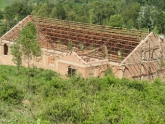 Buhemba Church - roof structure