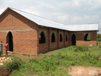 Bunchari Church -  roof completed December  2013