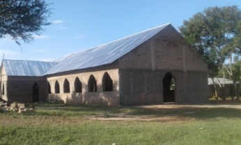Kerende church - roof completed May 2016