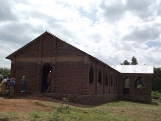 Mangucha Church - rooof completed July 2013