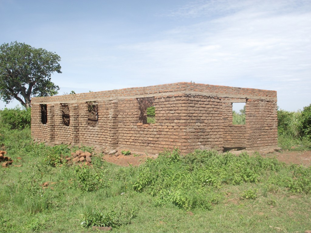 Nyakunguru Parish church under construction