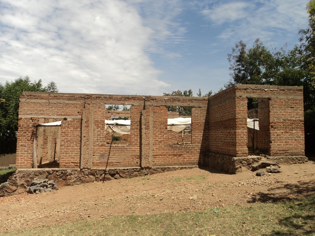 Nyangoto Parish church under construction