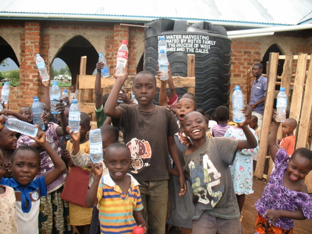 Pre-school kids at Bugumbe church