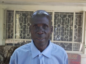 Joseph Nyamachoya, Day Assistant - Bishop's Residence