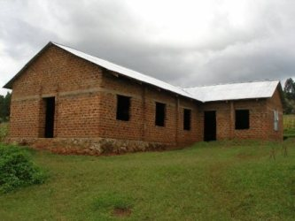 "</span>Nyabitocho Church - roof completed January 2013<span style=""font-size: 12.16px;\"">"